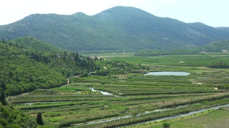 herzegovina : Neretva Delta is the river delta of the Neretva, a river that flows through Bosnia and Herzegovina and Croatia and empties in the Adriatic Sea.