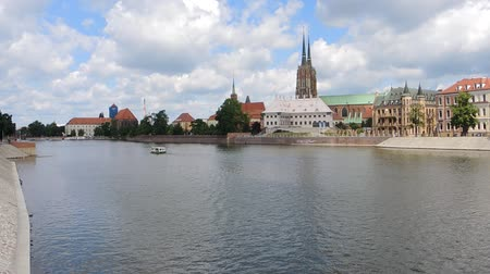marys : Cathedral Island at the river Oder in Wroclaw - Poland.