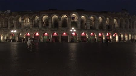 amfiteátr : Arena di Verona at evening - Italy.