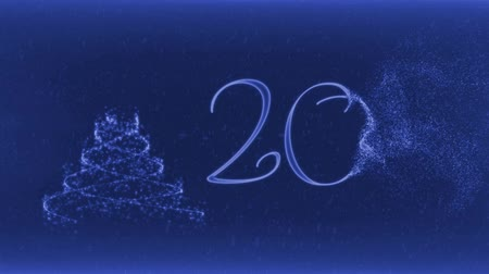 reason : Merry Christmas and Happy New Year 2017 Stock Footage