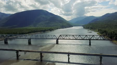 settlement : Kuandinsky Bridge over the Vitim River, located on the border of Zabaikalsky region and the Republic of Buryatia, is definitely one of the most dangerous road bridges in the world.