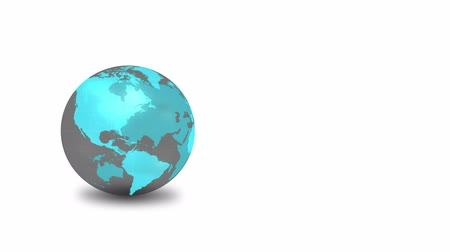 orbe : Earth globe animation Stock Footage