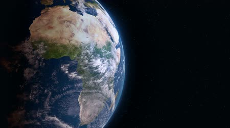 marrocos : Earth 3d view from space. Africa.