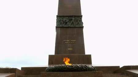 memorial day : Monument to the war. He died during the Great Patriotic War. Langeron is located.