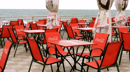 marca : Odessa, Ukraine, May 2019: - Coca Cola logos. Stock Footage