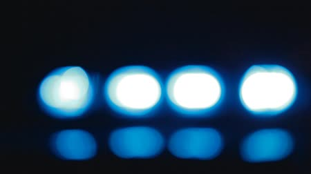полиция : Police Car Lights Defocus