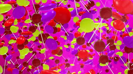 Colorful Candy Falling is motion footage for celebration films and cinematic in candy day scene. Also good background for scene and titles, logos.