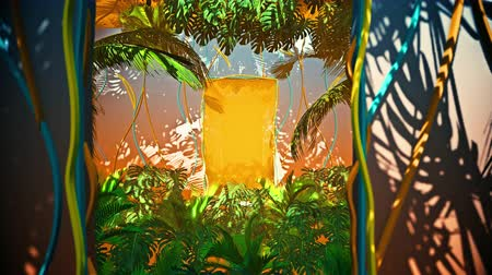 botanik : Flying In Jungle For Summer Hawai is motion footage for adventure films and cinematic in jungle scene. Also good background for scene and titles, logos.