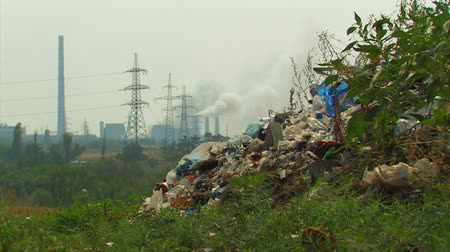 район : Landfill in the industrial area.