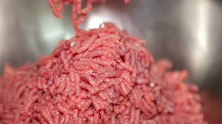 фарш : Ground Beef Close-up.