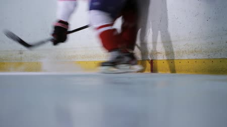 pain free : Collision between two players during a hockey match.