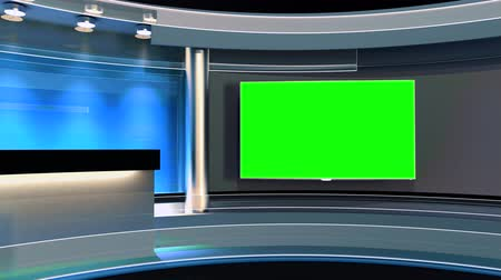 zöld : Studio The perfect backdrop for any green screen or chroma key video production. Loop