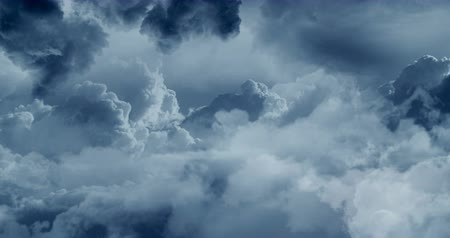 piloot : Flying in clouds. Sky background