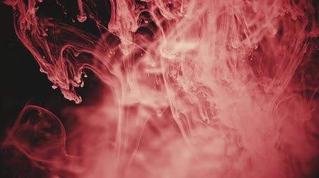 smoke motion : Abstract Ink colour flowing in water