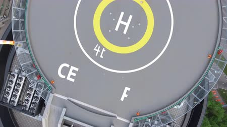 heliport : Helipad in the police station on the roof of the