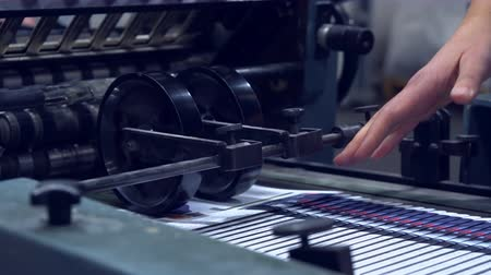 ofset : printing newspaper conveyor print house