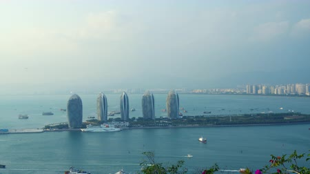 대통령 : View Of Phoenix Island President Resort Apartment, Hainan Sheng, China. 5 개의 놀라운 유사한 건물. 무비클립