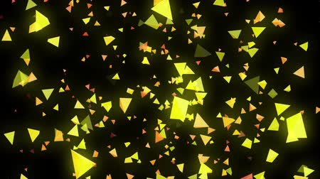 black yellow : Motion elements footage Stock Footage