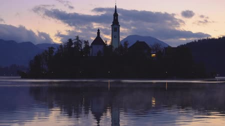 marys : Lake Bled, Slovenia with St. Marys Church of the Assumption on the island.
