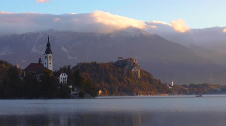 marys : Lake Bled, Slovenia with St. Marys Church of the Assumption on the island