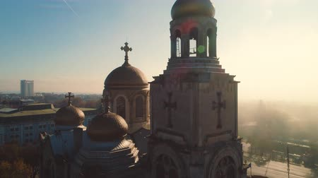 monumentális : Varna, Bulgaria and The Cathedral of Assumption. Aerial view