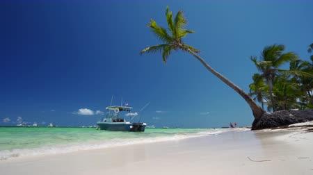 fiji : Summer vacation on tropical beach - island and sea. Punta Cana, Dominican Republic