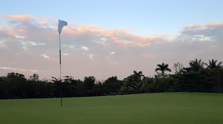 rúgbi : Luxury golf course on tropical caribbean island