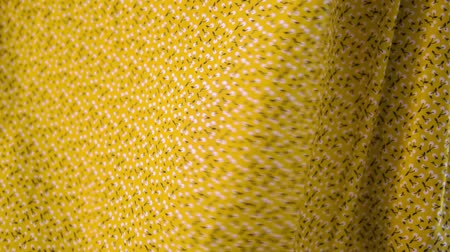 çuval bezi : Close-up yellow fabric textile texture for background