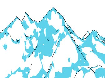 nuptse : Mount Everest, relief and height, mountains. 3d rendering. 360 degree views of Mount Everest Stock Footage