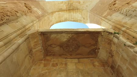 cara : Ishak Pasha Palace, interiors, decorations and bas-reliefs, carved stone. Internal architecture. It is one of the most magnificent historical buildings of the country. Dogubeyazit district of Agri province of eastern Turkey