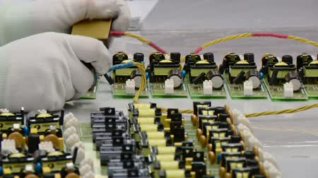 conector : Electronic circuit testing