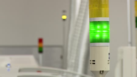 calyx : signal lights at the plant