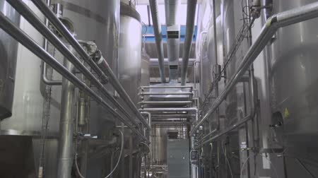Dairy factory interior