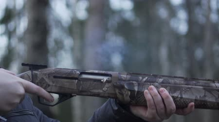 eject : Shooting Shotgun Slow Motion