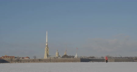 Peter and Paul Fortress in winter
