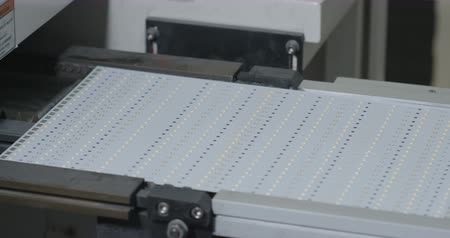 LED panel modern production line Dostupné videozáznamy