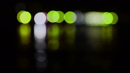 desvanecer : Holiday glow- green and yellow bright lights. Can be used for abstract background