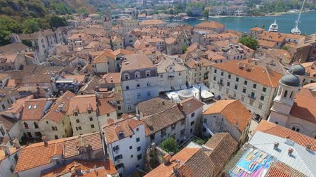 Aerial View Of Kotor Old Town and Bay, Montenegro 1