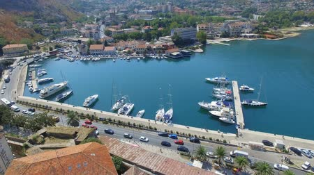 Aerial View Of Kotor Old Town and Bay, Montenegro 2
