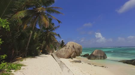 anse : Walking On Beautiful Beach, Anse Source dArgent, La Digue, Seychelles 2