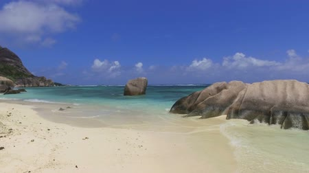 Walking On The Luxury Beach, Anse Source dArgent, La Digue, Seychelles 1