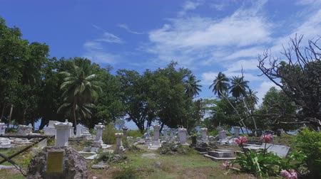 mahe : Walking Though The Old Cemetery On La Digue Island, Seychelles 1