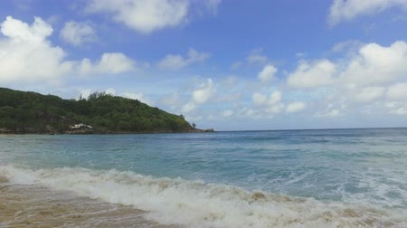 takamaka : View Of The Indian Ocean And Takamaka Beach, Mahe Island, Seychelles 3