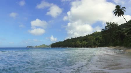 takamaka : View Of The Indian Ocean And Takamaka Beach, Mahe Island, Seychelles 1