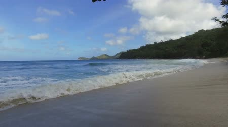takamaka : Walking On Takamaka Beach, Mahe Island, Seychelles 2