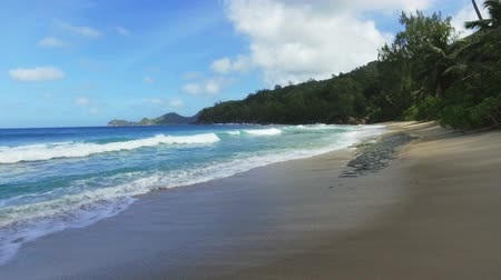 takamaka : Walking On Takamaka Beach, Mahe Island, Seychelles 3