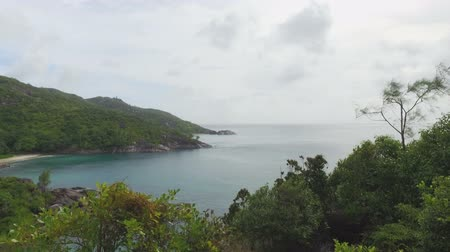 anse : Panorama Of The Indian Ocean And Anse Major Beach, Mahe Island, Seychelles 1