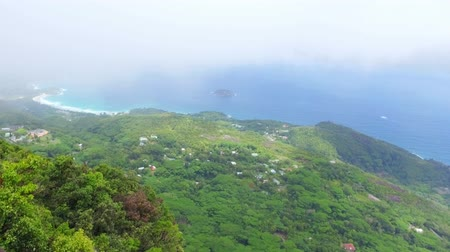 seychely : Panorama Of The Mahe Island form Morne Blanc View Point, Seychelles 4 Dostupné videozáznamy