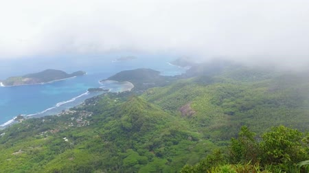 seychely : Panorama Of The Mahe Island form Morne Blanc View Point, Seychelles 1