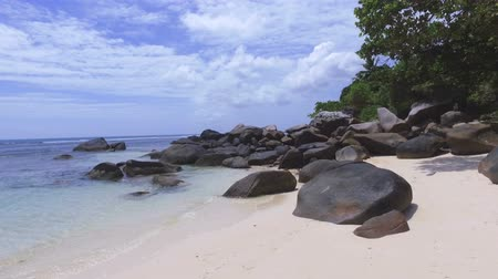 mahe : Walking Through The Rocks, Beau Vallon Beach, Mahe Island, Seychelles 5